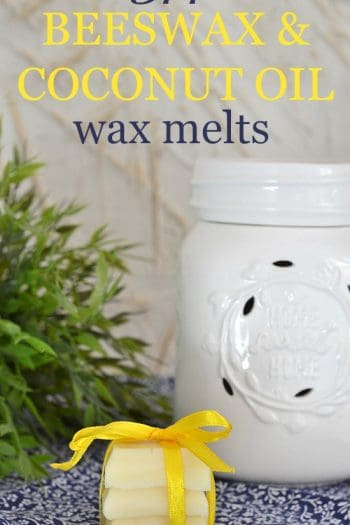 DIY Beeswax and Coconut Oil Wax Melts Recipe {VIDEO}