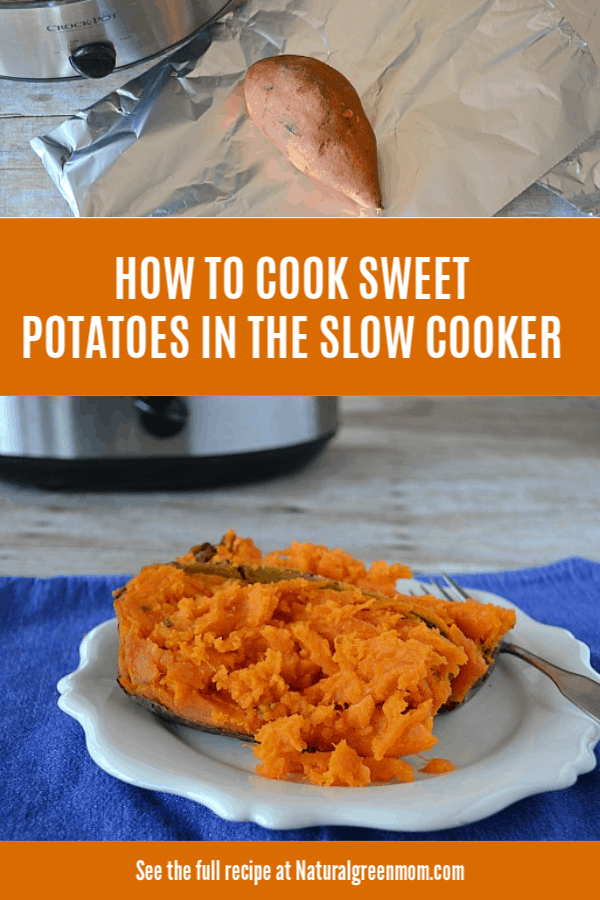 How to Cook Sweet Potatoes in the Slow Cooker to get Perfectly Cooked Potatoes