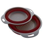 Save 50% on Collapsible Silicone Colander Set
