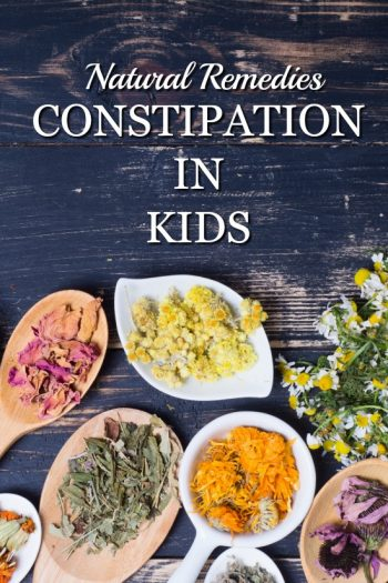 Natural Remedies for Constipation in Kids. How to help your child when they are suffering.