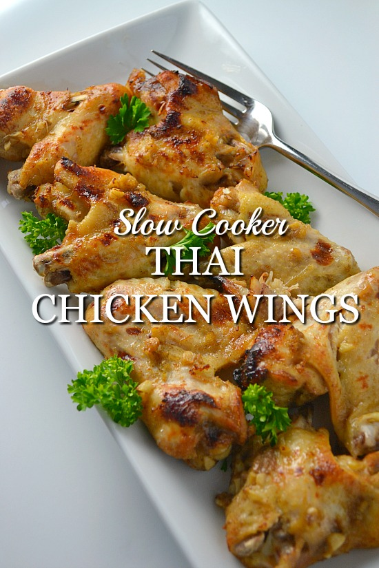 The Best Thai Slow Cooker Chicken Wings Recipe