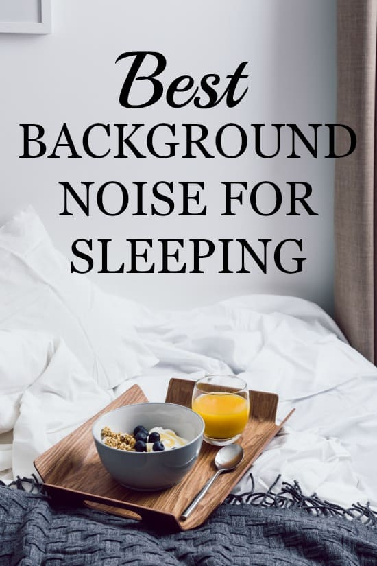 A round-up of the best background noise for sleeping.