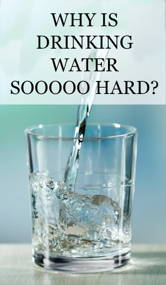 Getting to the bottom of the question: Why is drinking water so hard?