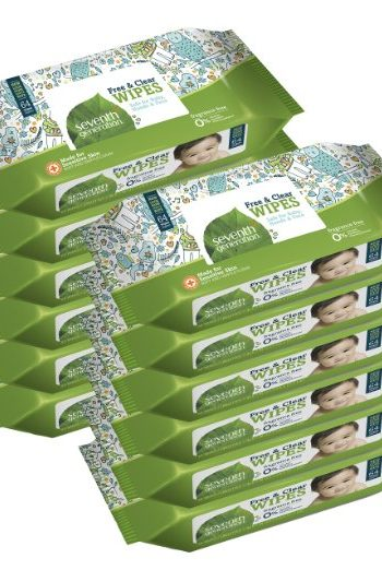 Seventh Generation Baby Wipes as low as $0.03 Each