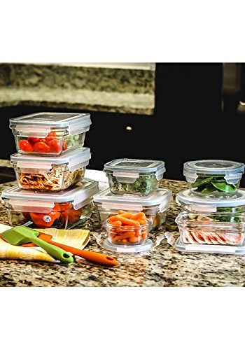 Glasslock 18 Piece Oven Proof Container Set Just $25.99