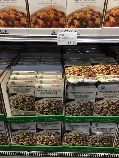 Costco Thanksgiving Prices Side Dishes