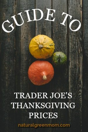 Guide to Trader Joe's Thanksgiving Prices