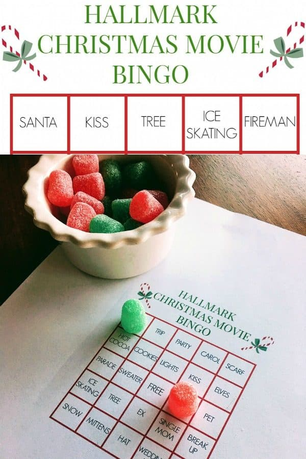 Hallmark Christmas Movie Bingo Cards