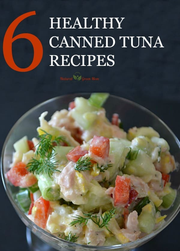 Title page 6 healthy canned tuna recipes