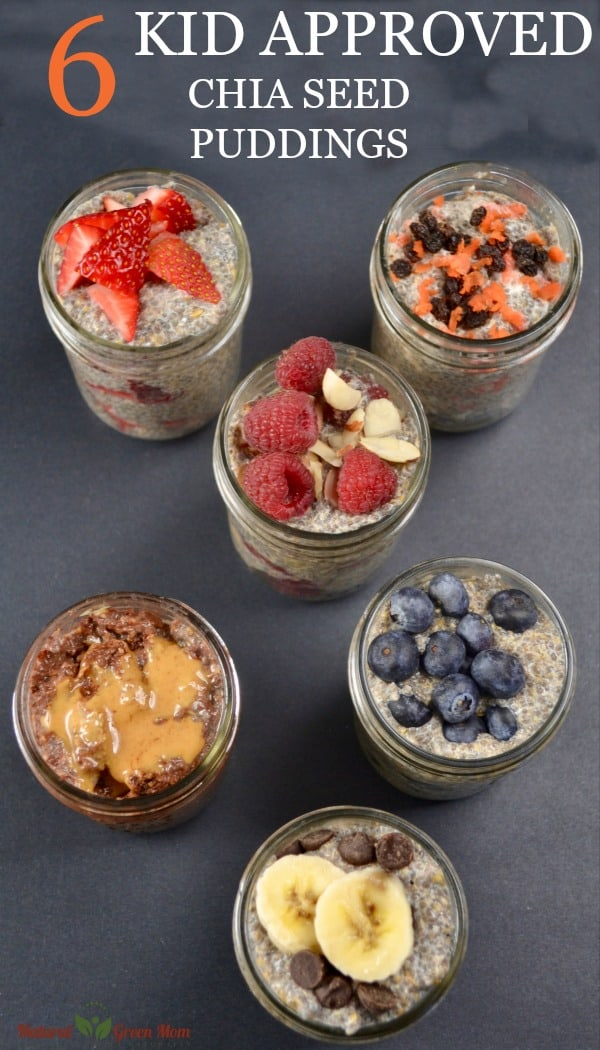 6 Kid Approved Chia Seed Pudding Recipes