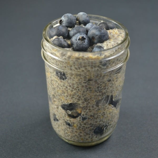 Blueberry Delight Chia Seed Pudding Recipe