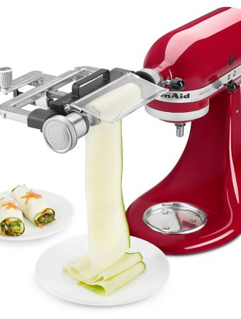 Save 40% on the Kitchenaid Vegetable Sheet Cutter!