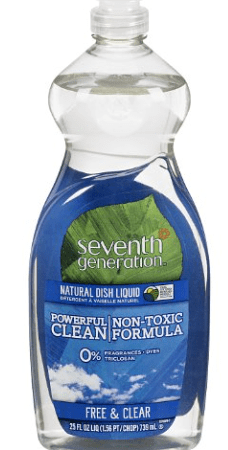 Online Coupon = Stock Up Price on Seventh Generation Dish Soap!
