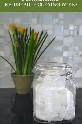Video: Cheap and Easy Homemade Re-Useable Cleaning Wipes