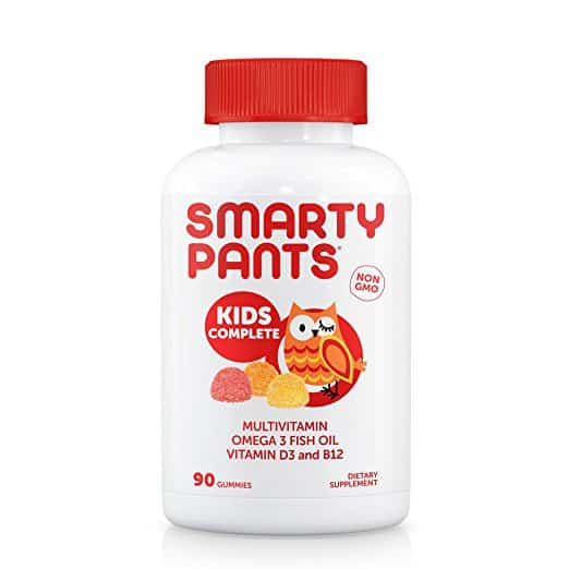 bottle smarty pants kids vitamins
