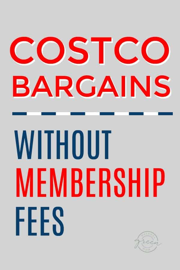 costco bargains without membership fees