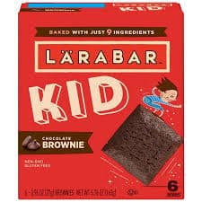 box larabar kid brownie