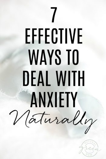 7 Effective Ways to Deal with Anxiety Naturally title page