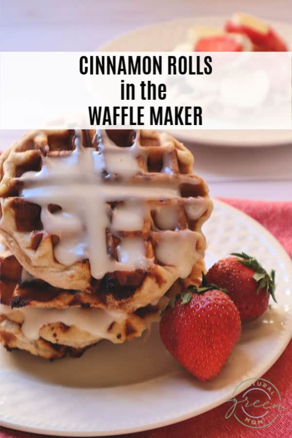 Did you know you can bake cinnamon rolls in your waffle maker? It is as easy as popping open your favorite can of cinnamon rolls.