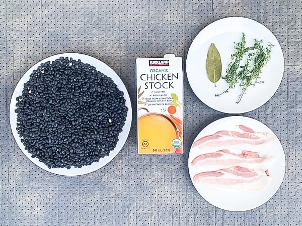 Use your slow cooker to perfectly cook dried black beans. This recipe for homemade beans tastes better than anything that comes out of a can.