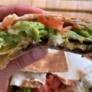 Black Bean Crunch Wrap Supreme
